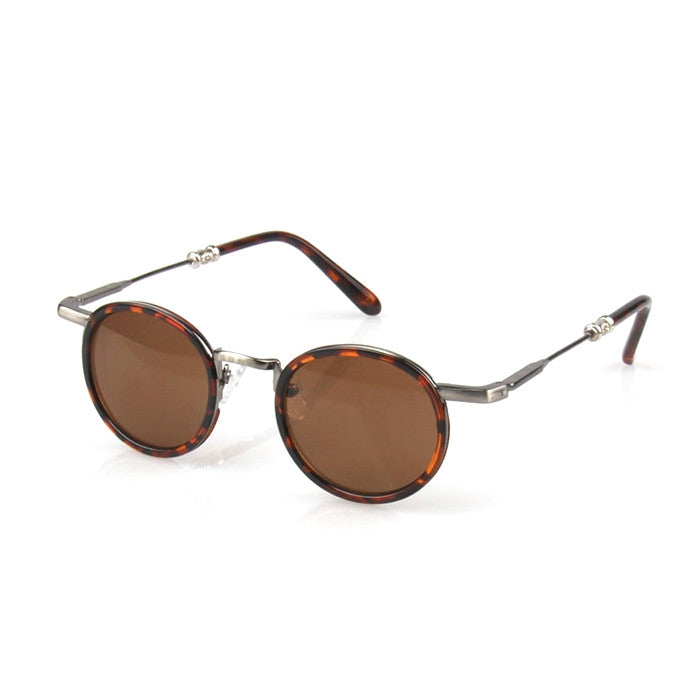 Brown Retro Vintage Style Handmade Sunlasses Shades Sun Glasses Goggles - WowAwesomeStuff  - 3