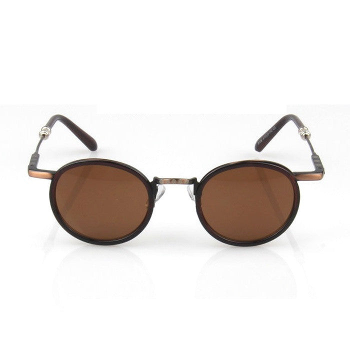 Brown Retro Vintage Style Handmade Sunlasses Shades Sun Glasses Goggles - WowAwesomeStuff  - 2