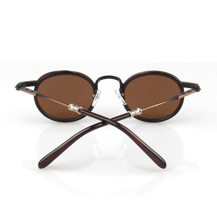 Brown Retro Vintage Style Handmade Sunlasses Shades Sun Glasses Goggles - WowAwesomeStuff  - 5