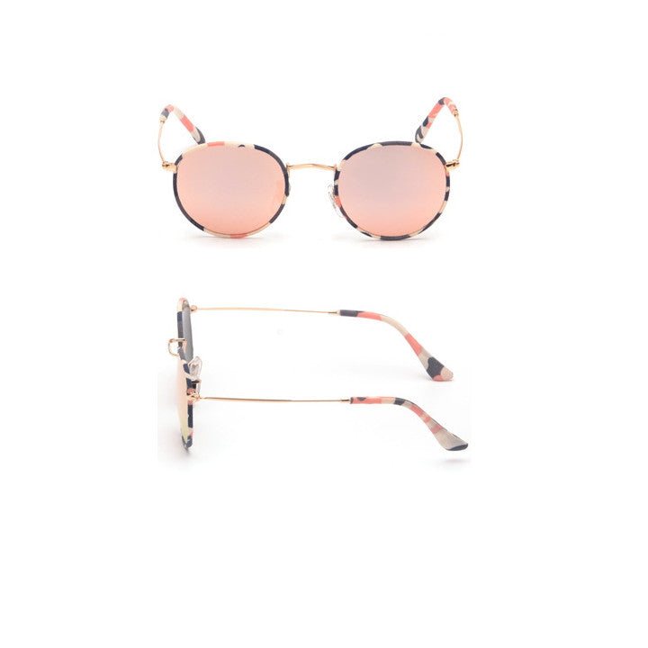 Pink Unique Arabesquitic Vintage Fabrics Aviator Sunglasses Shades Sun Glasses Goggles - WowAwesomeStuff  - 2