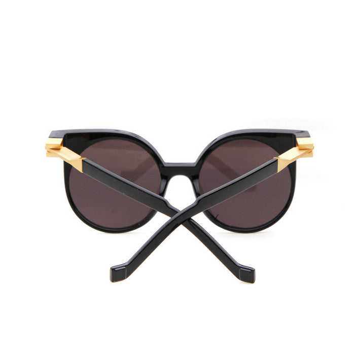 Round Very Unique Design Cat Eyes Steampunk Punk Sunglasses Shades Goggles - WowAwesomeStuff  - 4