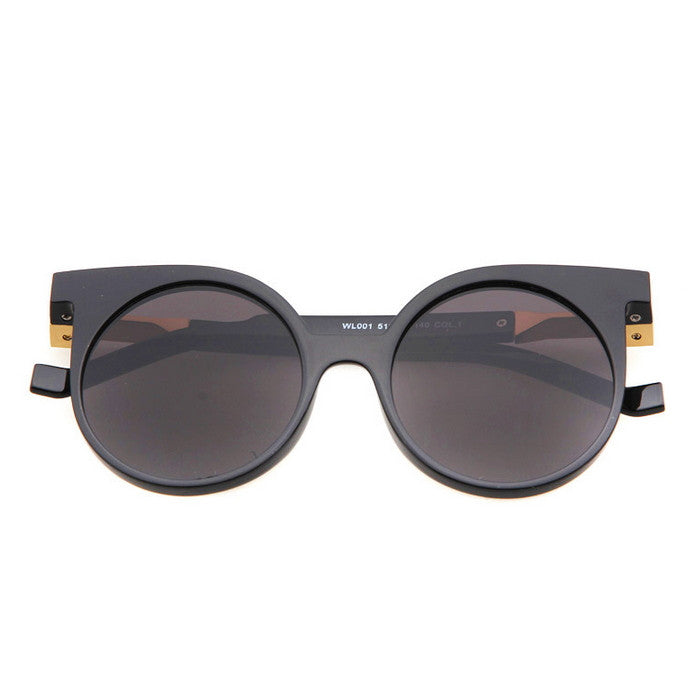 Round Very Unique Design Cat Eyes Steampunk Punk Sunglasses Shades Goggles - WowAwesomeStuff  - 14