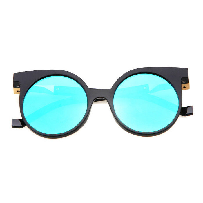 Round Very Unique Design Cat Eyes Steampunk Punk Sunglasses Shades Goggles - WowAwesomeStuff  - 15
