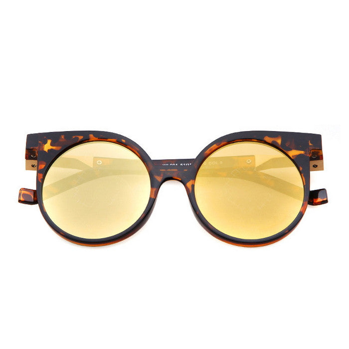 Round Very Unique Design Cat Eyes Steampunk Punk Sunglasses Shades Goggles - WowAwesomeStuff  - 21