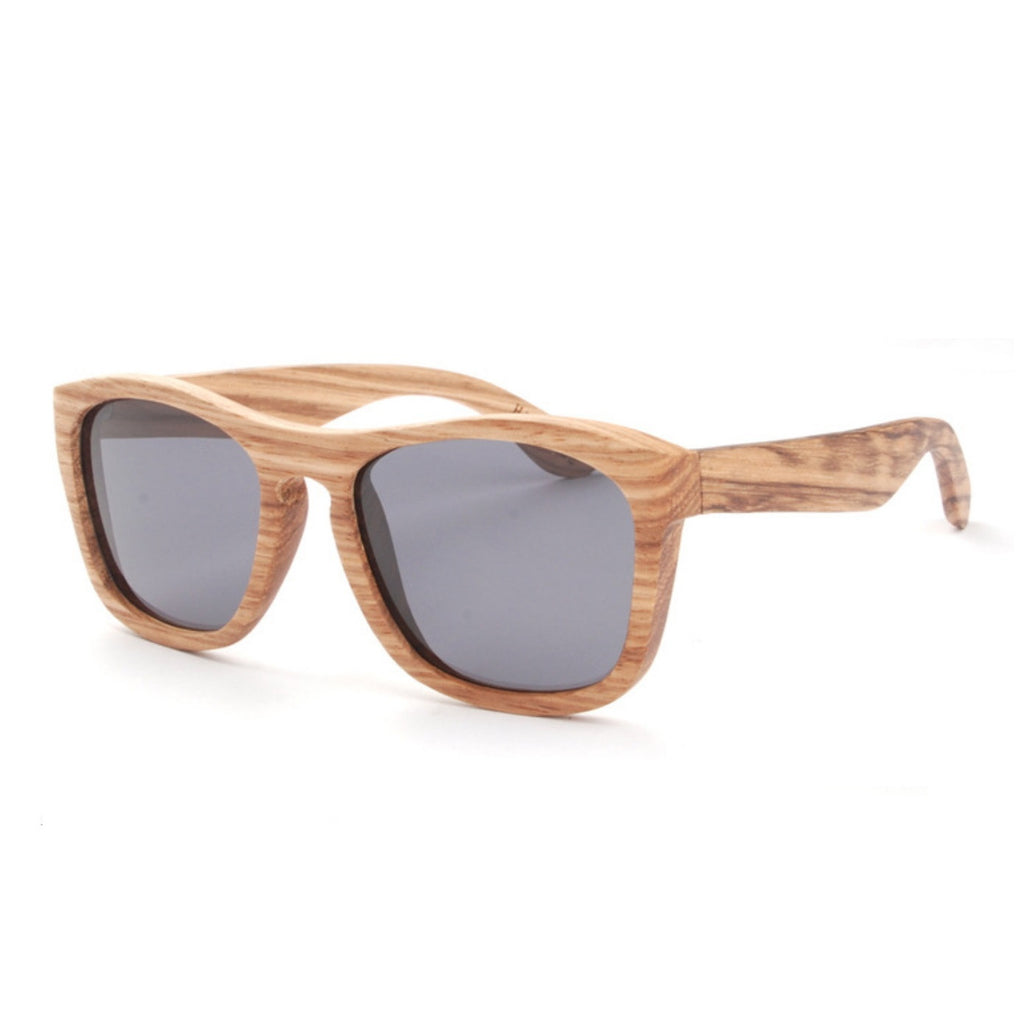 Retro Grained Vintage Style Polarized Handmade Wood Sunglasses Shades Sun Glasses - WowAwesomeStuff  - 2
