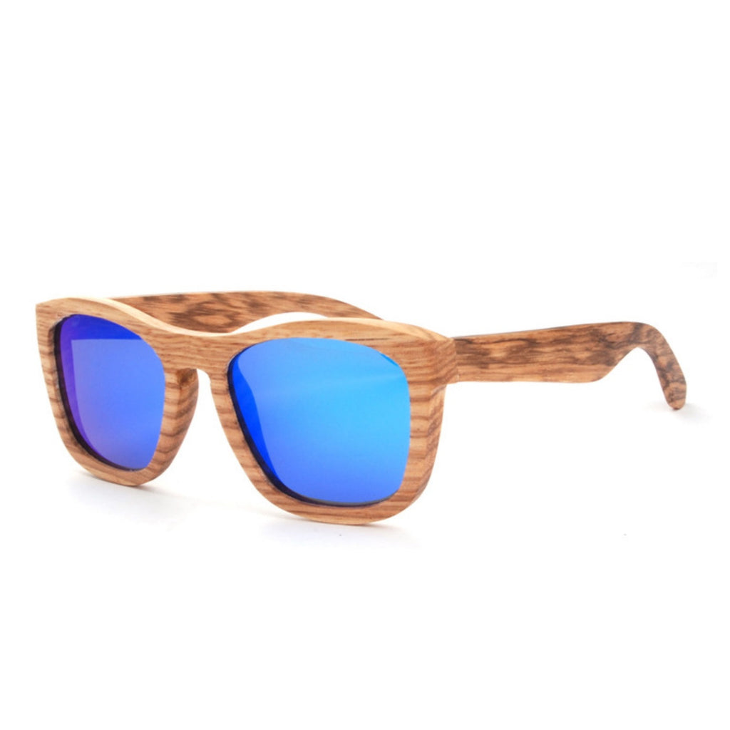 Retro Grained Vintage Style Polarized Handmade Wood Sunglasses Shades Sun Glasses - WowAwesomeStuff  - 4