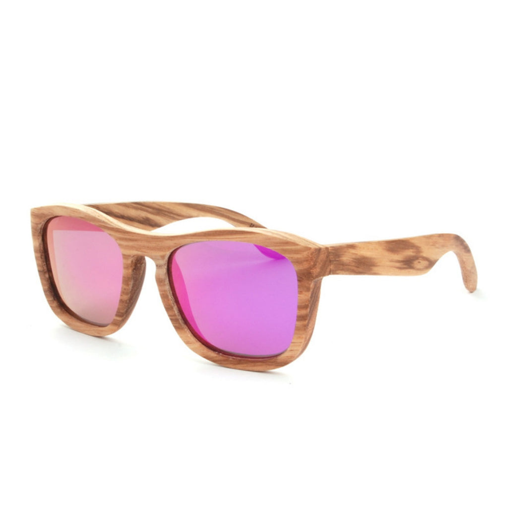 Retro Grained Vintage Style Polarized Handmade Wood Sunglasses Shades Sun Glasses - WowAwesomeStuff  - 6