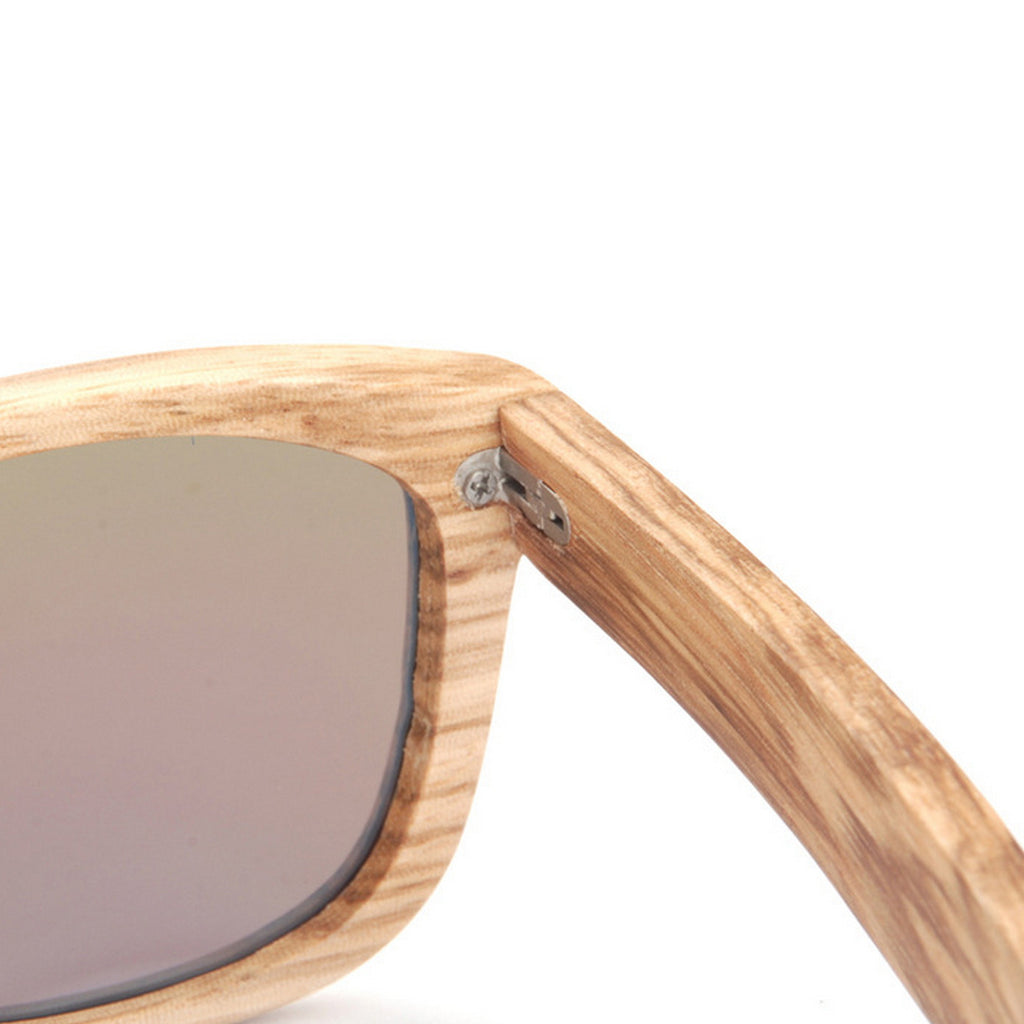 Retro Grained Vintage Style Polarized Handmade Wood Sunglasses Shades Sun Glasses - WowAwesomeStuff  - 10