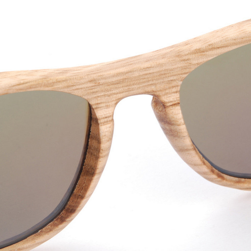 Retro Grained Vintage Style Polarized Handmade Wood Sunglasses Shades Sun Glasses - WowAwesomeStuff  - 11