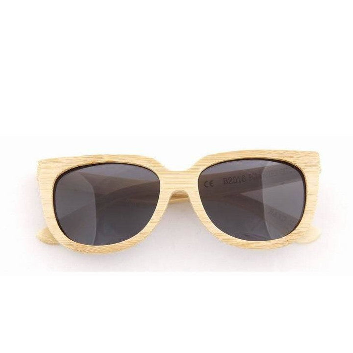 Handmade Aviator Wood Bamboo Sunglasses Shades for Men Women - WowAwesomeStuff  - 2