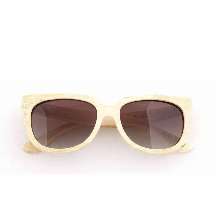 Handmade Aviator Wood Bamboo Sunglasses Shades for Men Women - WowAwesomeStuff  - 5