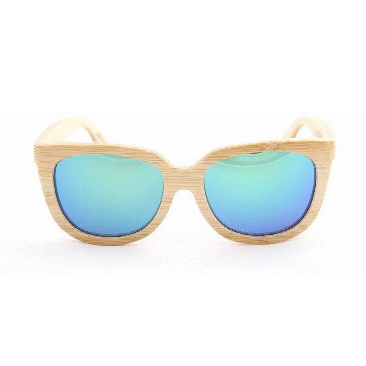 Handmade Aviator Wood Bamboo Sunglasses Shades for Men Women - WowAwesomeStuff  - 10