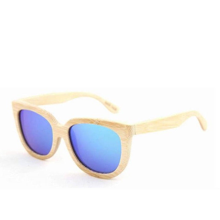 Handmade Aviator Wood Bamboo Sunglasses Shades for Men Women - WowAwesomeStuff  - 11