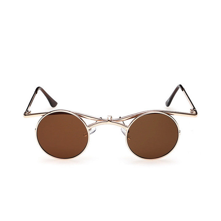 Steampunk Punk Collapsible Burning Man Sunglasses Shades Goggles Sun Glasses - WowAwesomeStuff  - 11