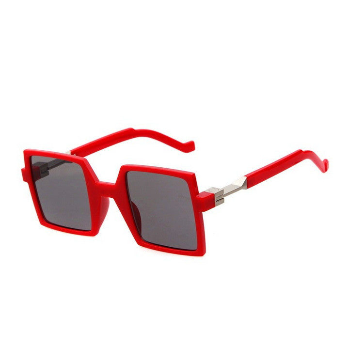 Unique Design Retro Vintage Style Quadrate Sunglasses Shades - WowAwesomeStuff  - 9