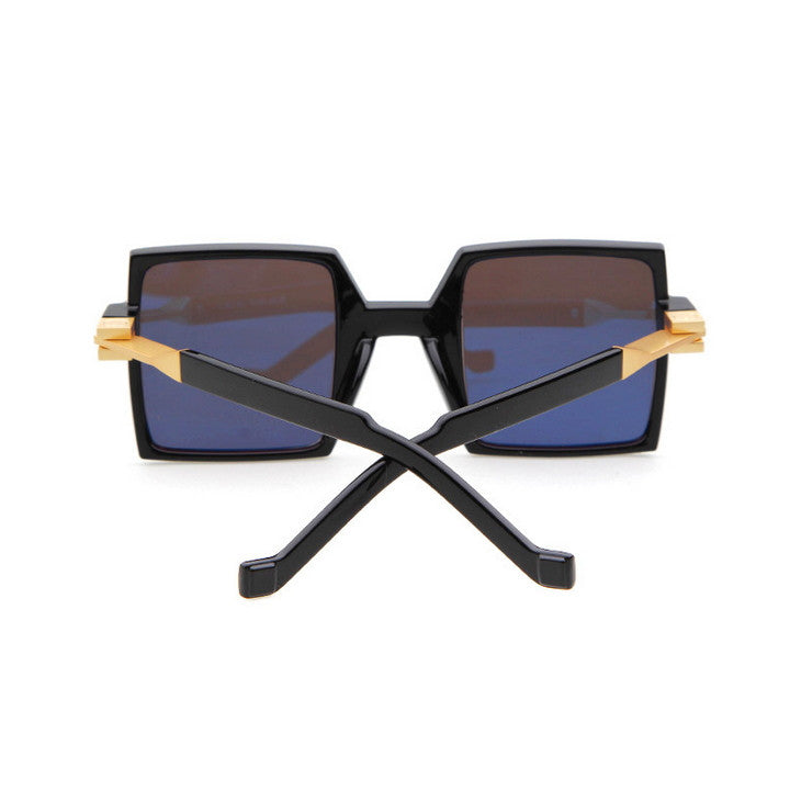 Unique Design Retro Vintage Style Quadrate Sunglasses Shades - WowAwesomeStuff  - 3
