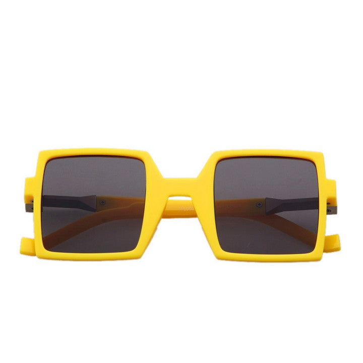 Unique Design Retro Vintage Style Quadrate Sunglasses Shades - WowAwesomeStuff  - 19