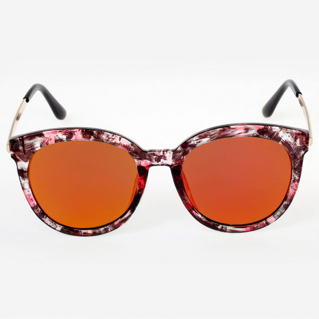 Marble Frame Retro Vintage Style Cat Eyes Sunglasses Shades Goggles - WowAwesomeStuff  - 12