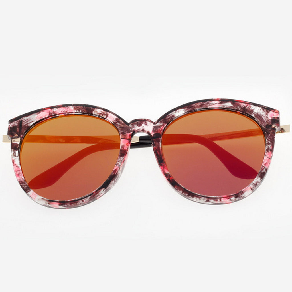 Marble Frame Retro Vintage Style Cat Eyes Sunglasses Shades Goggles - WowAwesomeStuff  - 13