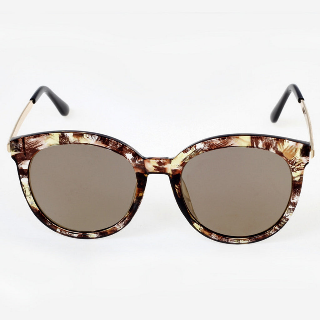 Marble Frame Retro Vintage Style Cat Eyes Sunglasses Shades Goggles - WowAwesomeStuff  - 15