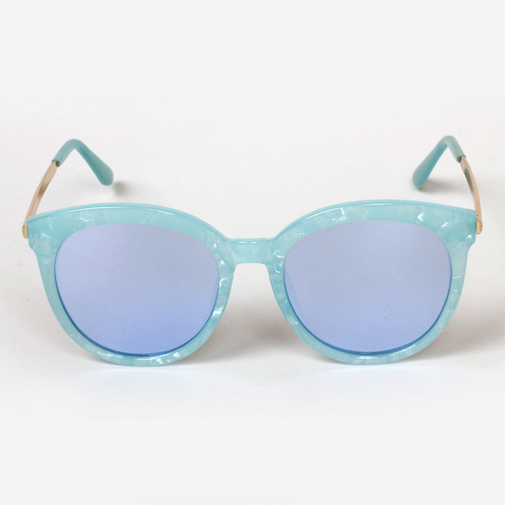 Marble Frame Retro Vintage Style Cat Eyes Sunglasses Shades Goggles - WowAwesomeStuff  - 18