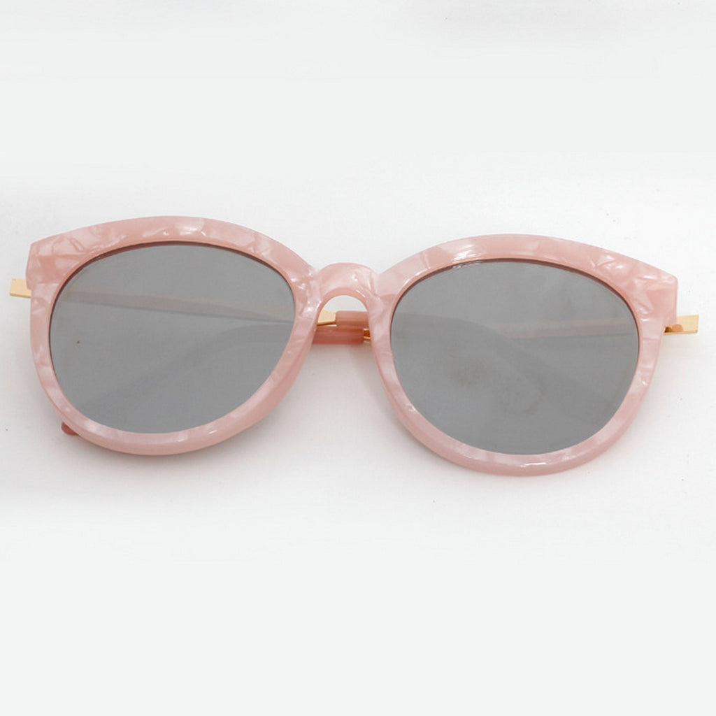 Marble Frame Retro Vintage Style Cat Eyes Sunglasses Shades Goggles - WowAwesomeStuff  - 22