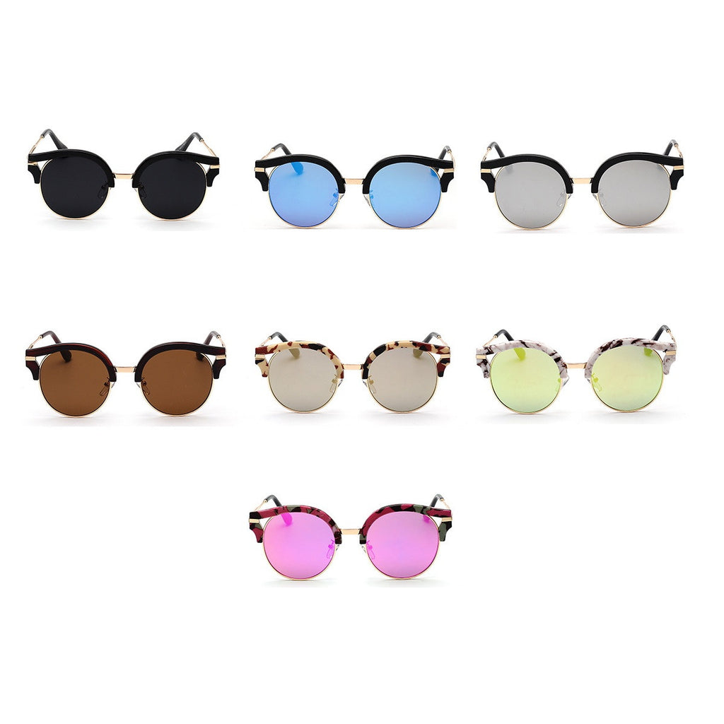 7 Colors Colorful Girls Cat Eye Sunglasses Shades Sunnies Goggles Sun Glasses for Women - WowAwesomeStuff  - 8