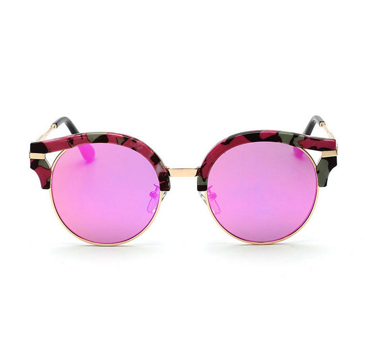 7 Colors Colorful Girls Cat Eye Sunglasses Shades Sunnies Goggles Sun Glasses for Women - WowAwesomeStuff  - 10