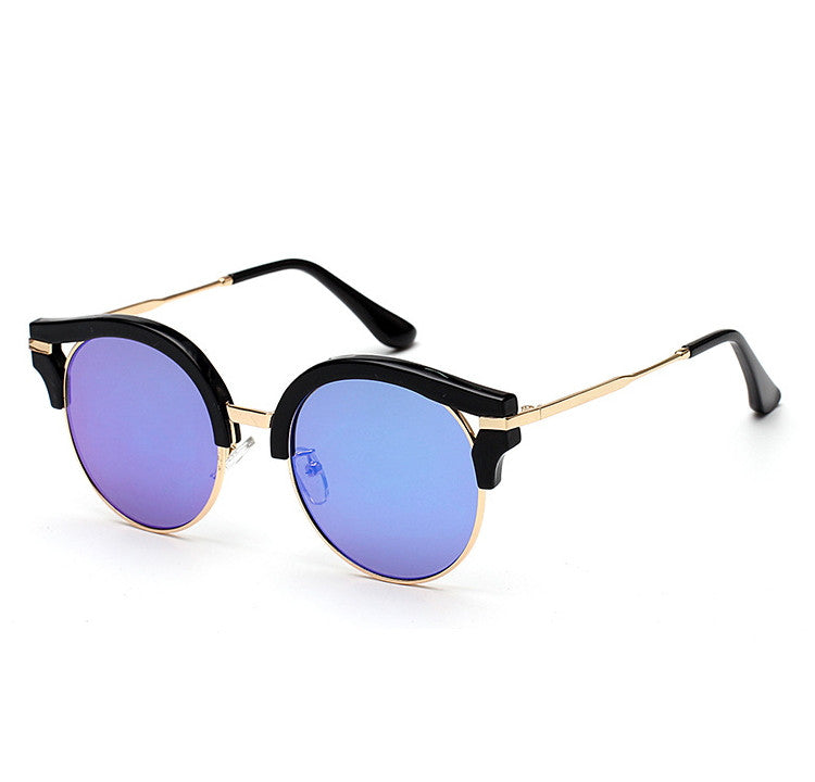 7 Colors Colorful Girls Cat Eye Sunglasses Shades Sunnies Goggles Sun Glasses for Women - WowAwesomeStuff  - 14