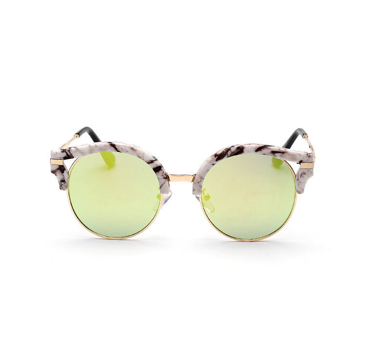 7 Colors Colorful Girls Cat Eye Sunglasses Shades Sunnies Goggles Sun Glasses for Women - WowAwesomeStuff  - 25