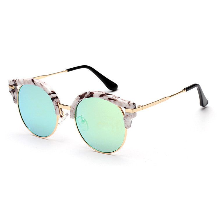 7 Colors Colorful Girls Cat Eye Sunglasses Shades Sunnies Goggles Sun Glasses for Women - WowAwesomeStuff  - 26