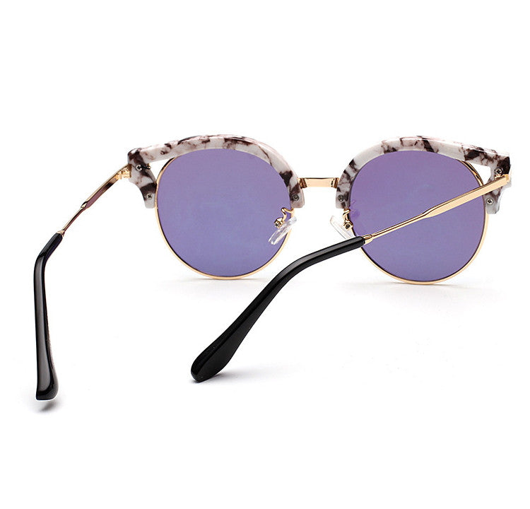 7 Colors Colorful Girls Cat Eye Sunglasses Shades Sunnies Goggles Sun Glasses for Women - WowAwesomeStuff  - 27