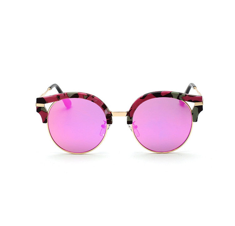 7 Colors Colorful Girls Cat Eye Sunglasses Shades Sunnies Goggles Sun Glasses for Women - WowAwesomeStuff  - 2