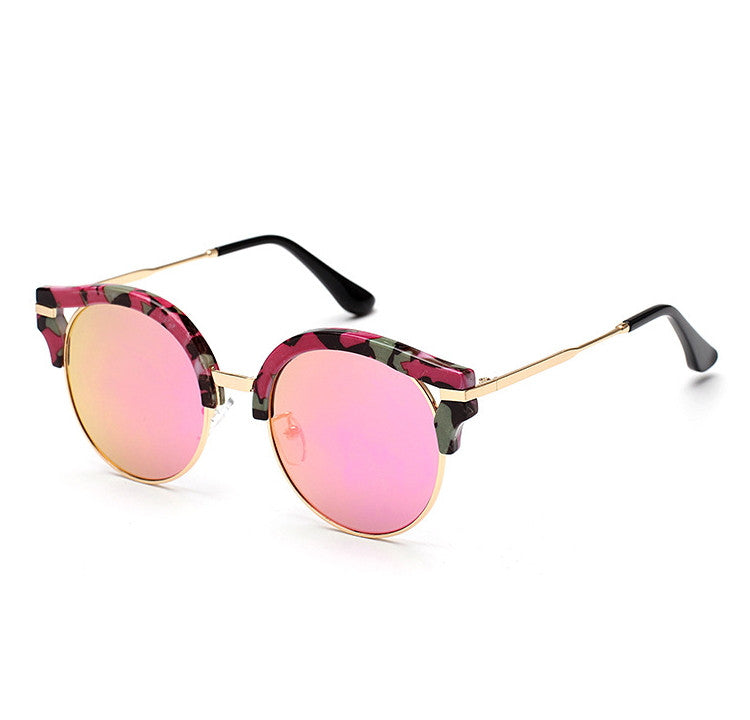 7 Colors Colorful Girls Cat Eye Sunglasses Shades Sunnies Goggles Sun Glasses for Women - WowAwesomeStuff  - 1