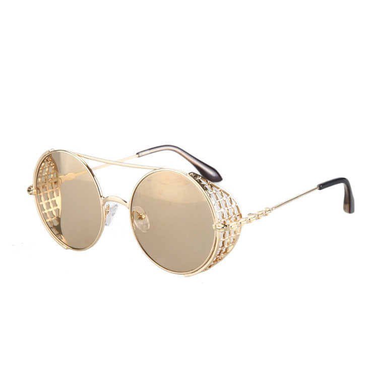 2016 New Arrival Burning Man Retro Steampunk Sunglasses Goggles for Women Men - WowAwesomeStuff  - 6