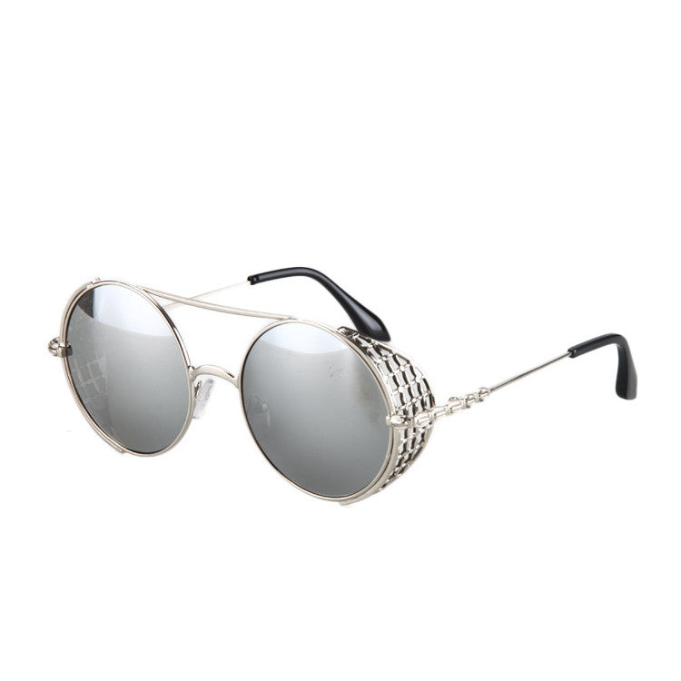 2016 New Arrival Burning Man Retro Steampunk Sunglasses Goggles for Women Men - WowAwesomeStuff  - 12
