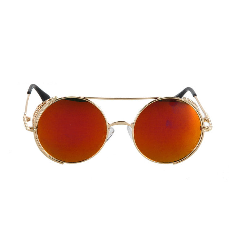 2016 New Arrival Burning Man Retro Steampunk Sunglasses Goggles for Women Men - WowAwesomeStuff  - 16