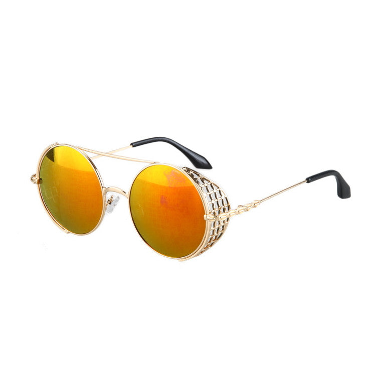 2016 New Arrival Burning Man Retro Steampunk Sunglasses Goggles for Women Men - WowAwesomeStuff  - 15