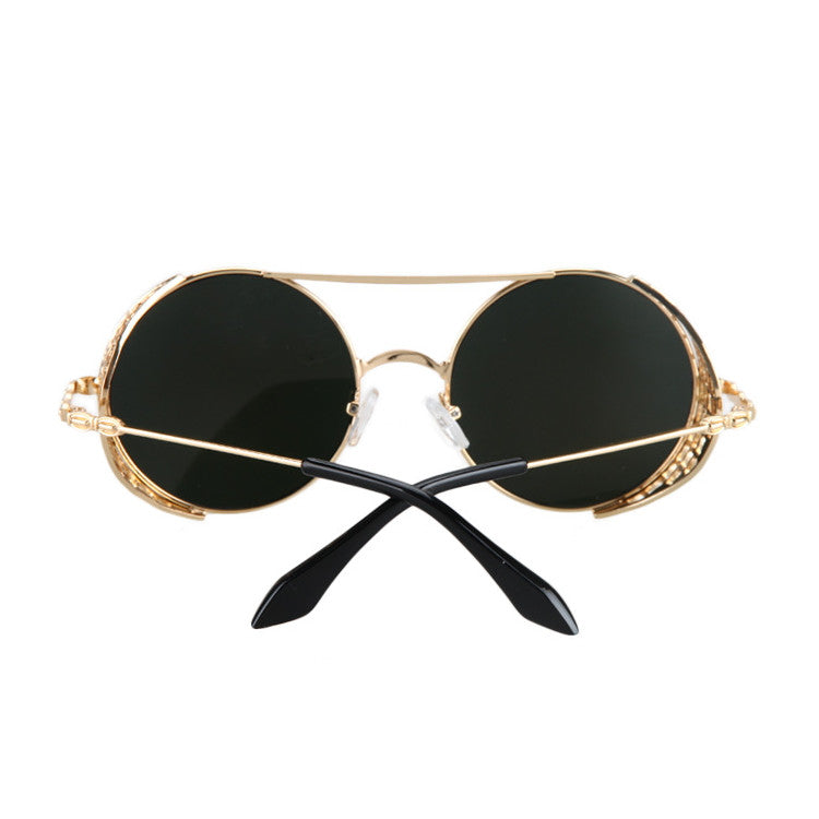 2016 New Arrival Burning Man Retro Steampunk Sunglasses Goggles for Women Men - WowAwesomeStuff  - 17