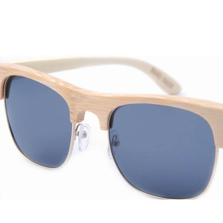 2016 Unique Retro Semi Rimless Women Wood Bamboo Sunglasses for Ladies Sun Glasses Shades Hot Sale - WowAwesomeStuff  - 11