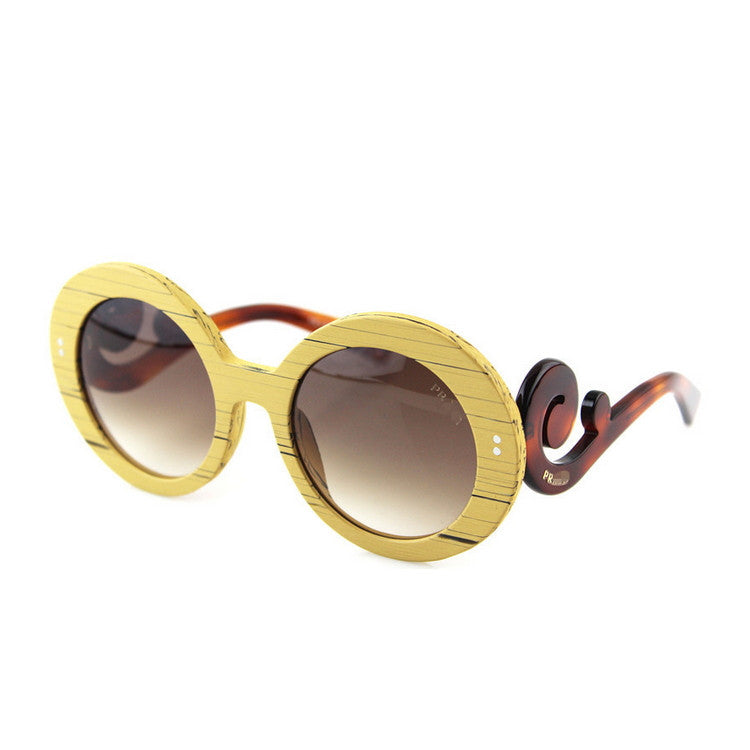 2016 Luxury Brand New Retro Vintage Grained Retro Round Womens Wood Sunglasses for Women Sun Glasses 5 Colors - WowAwesomeStuff  - 4