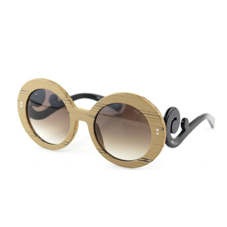2016 Luxury Brand New Retro Vintage Grained Retro Round Womens Wood Sunglasses for Women Sun Glasses 5 Colors - WowAwesomeStuff  - 5