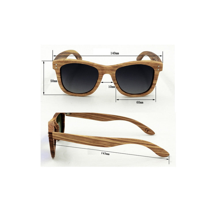 Unique Retro Vintage Style Mens Womens Pilot Aviator Wood Sunglasses for Men Women Sun Glasses Goggles 5 Colors Hot Sale - WowAwesomeStuff  - 4