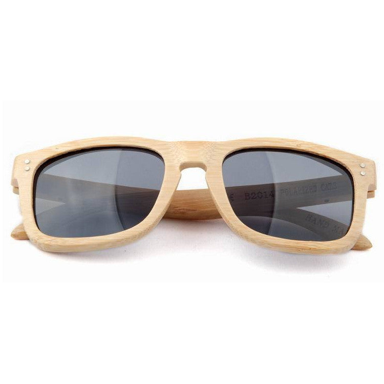 2016 New Polarized Aviator Bamboo Wood Sunglasses for Men Women Eyewear Gafas Oculos De Sol Brand Designer 3 Colors Hot Sale - WowAwesomeStuff  - 9