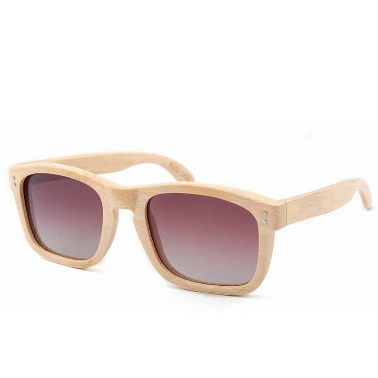2016 New Polarized Aviator Bamboo Wood Sunglasses for Men Women Eyewear Gafas Oculos De Sol Brand Designer 3 Colors Hot Sale - WowAwesomeStuff  - 10