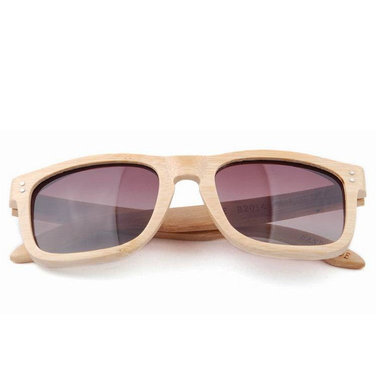 2016 New Polarized Aviator Bamboo Wood Sunglasses for Men Women Eyewear Gafas Oculos De Sol Brand Designer 3 Colors Hot Sale - WowAwesomeStuff  - 12