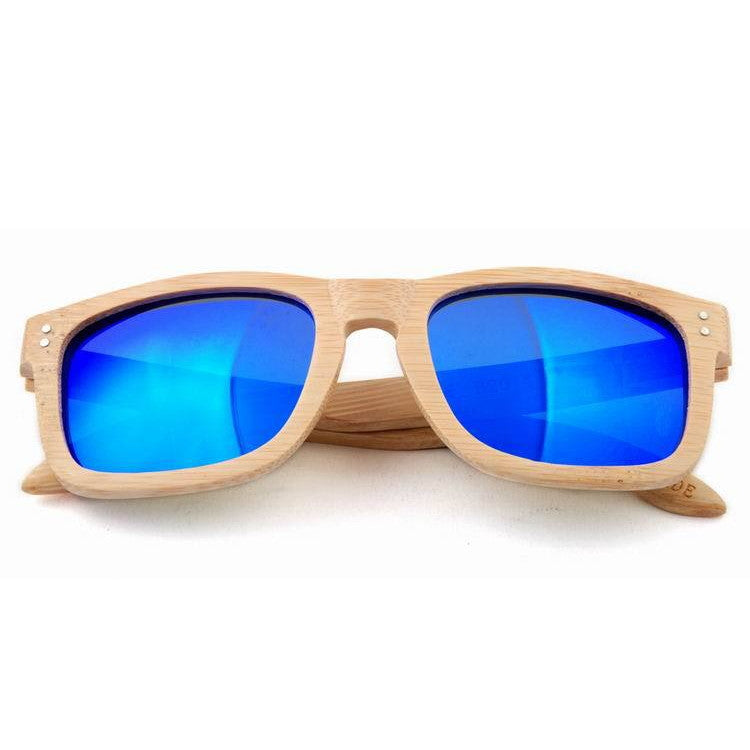 2016 New Polarized Aviator Bamboo Wood Sunglasses for Men Women Eyewear Gafas Oculos De Sol Brand Designer 3 Colors Hot Sale - WowAwesomeStuff  - 3