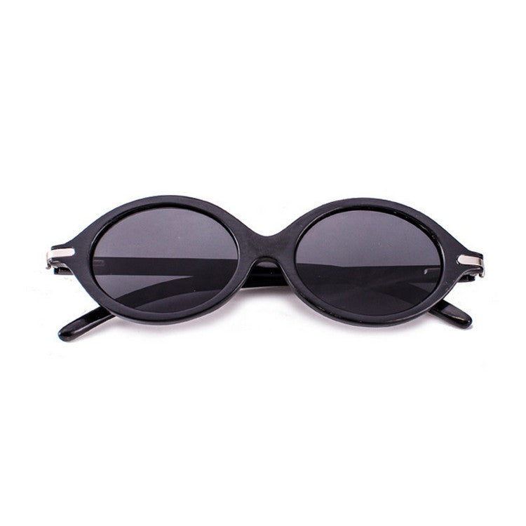 Brand New Retro Black Grained Round Wood Sunglasses for Men Women Sun Glasses Hot Sale Free Shipping