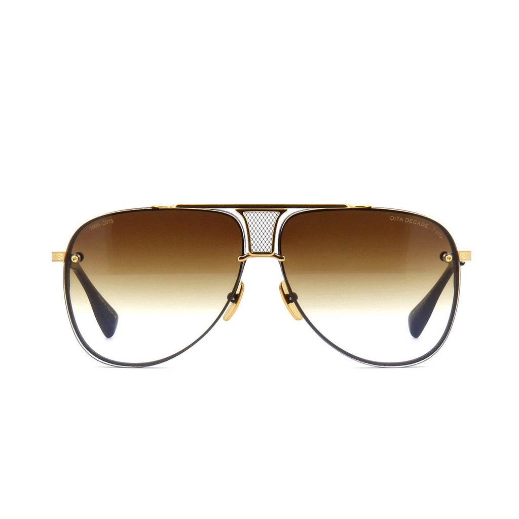 009 Dita Brown Decade Two DRX 2082B 2082-B 18k (20th Anniversary Limited Edtion) Womens Mens Sunglasses for Men Women Sun Glasses Eyewear Shades - WowAwesomeStuff  - 2