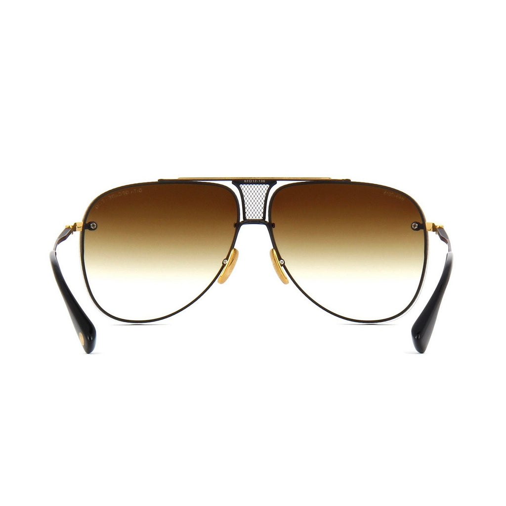 009 Dita Brown Decade Two DRX 2082B 2082-B 18k (20th Anniversary Limited Edtion) Womens Mens Sunglasses for Men Women Sun Glasses Eyewear Shades - WowAwesomeStuff  - 4